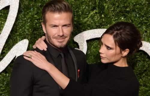 Victoria Beckham Thanks Husband David for his Support