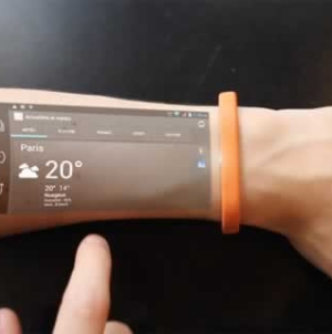 Cicret – Futuristic Android Bracelet Tech Gadget