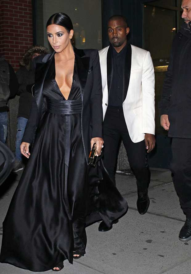 Kim Kardashian heating up Freezing New York