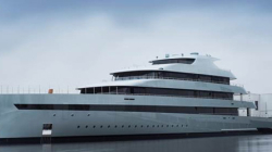 World's first Super Luxury Hybrid Mega Yacht Launches