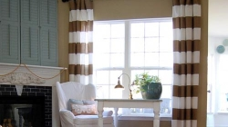 How to Make Horizontal Stripe Curtains in 10 Easy Steps