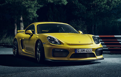 Porsche Cayman GT4 Takes Cues from 911 GT3, Packs 385 HP