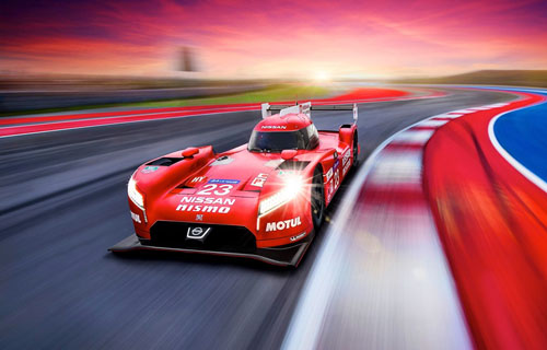 How Nissan's LMP1 Super Bowl Star Could Get You on Top of the World
