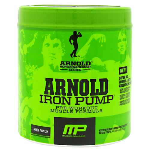 Arnold Iron Pump Supplement