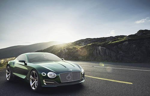 Bentley Exp 10 Sporty 200mph 'baby' Bentley for 21st Century