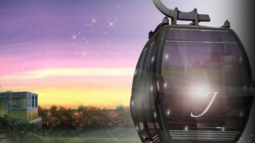 World's first 7-star VIP Jewelled Cable Cars