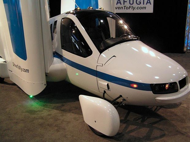 Futuristic Flying Car