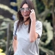 Kendall Jenner Shows off Her Slim Legs