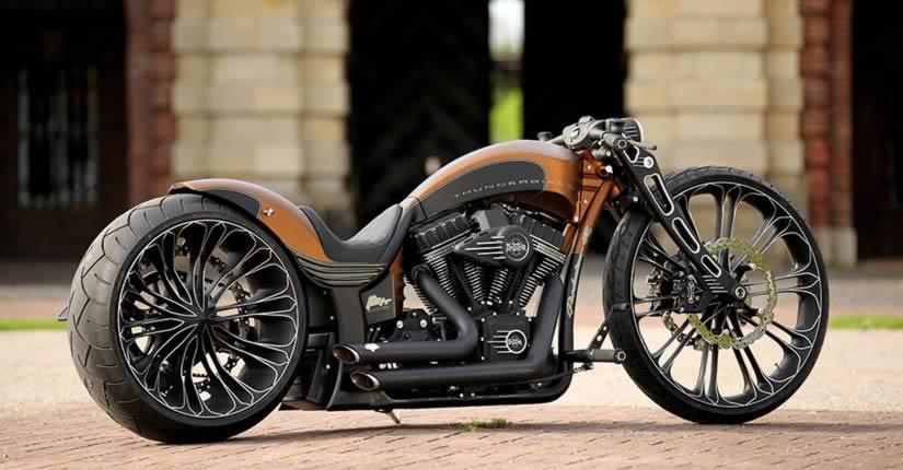 Latest Custom Bike Design Production By Thunderbike