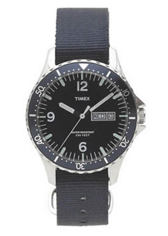 Timex For J Crew Andros Watch For Men in Blue
