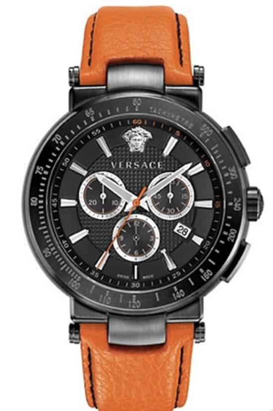 Versace Mystique Sport Orange Watch For Men