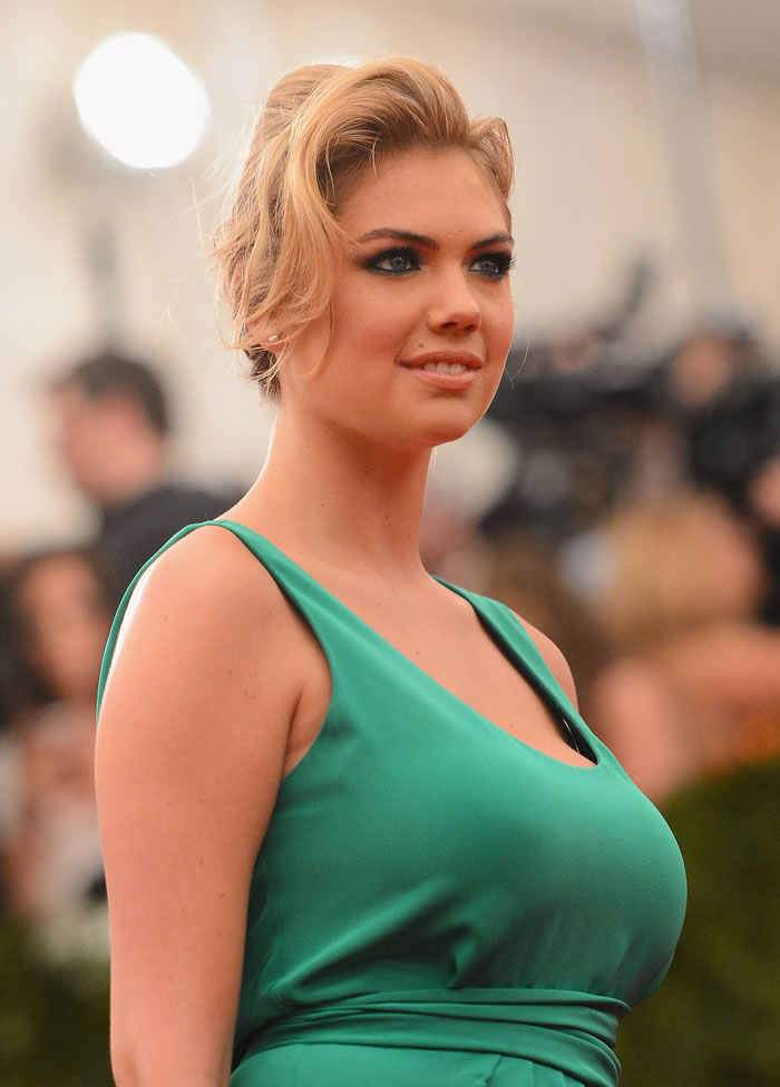Kate Upton Green Dress