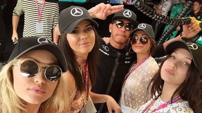 Kris Jenner 'Wants Kendall to Date Lewis Hamilton'