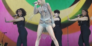 Taylor Swift Puts Leggy Display Rocks Racy Bodysuit BBC Radio 1