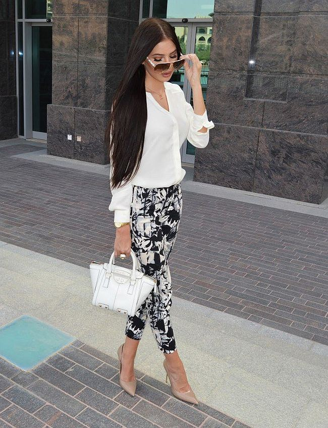 White and Black Outfit Ideas