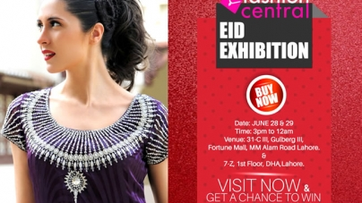 "Fashion Central Multi Brand Store Presenting ""Eid Designer Exclusives"" 28 & 29 June 2015"