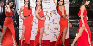 Kendall Jenner Looks Heaven Scent at NYC Fragrance Awards
