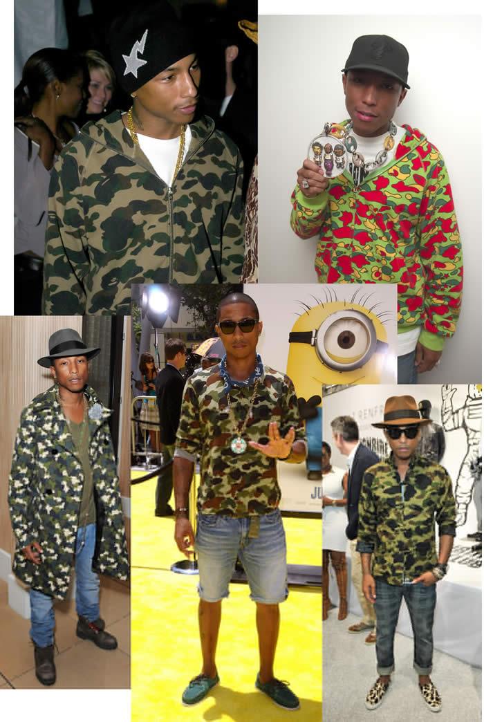 Pharrell honored
