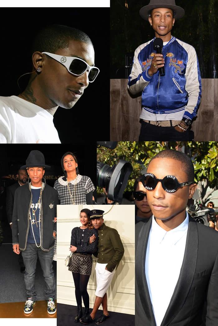 Pharrell honored Style Icone