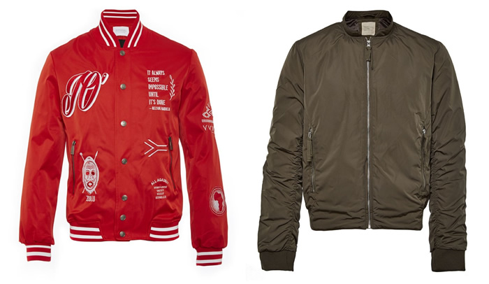 Lightweight Bomber Jackets