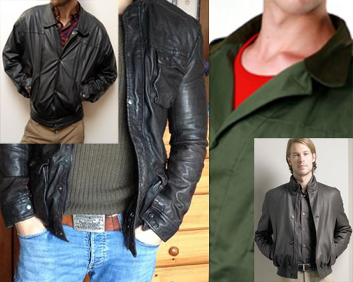 The Leather Macho Look