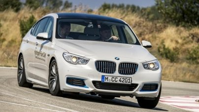 BMW 5 Series GT Fuel Cell Concept Review