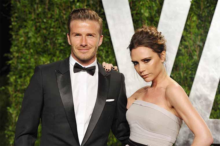 Best Friends David and Victoria Beckham