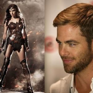 Chris Pine to Star Opposite Gal Gadot in Wonder Woman