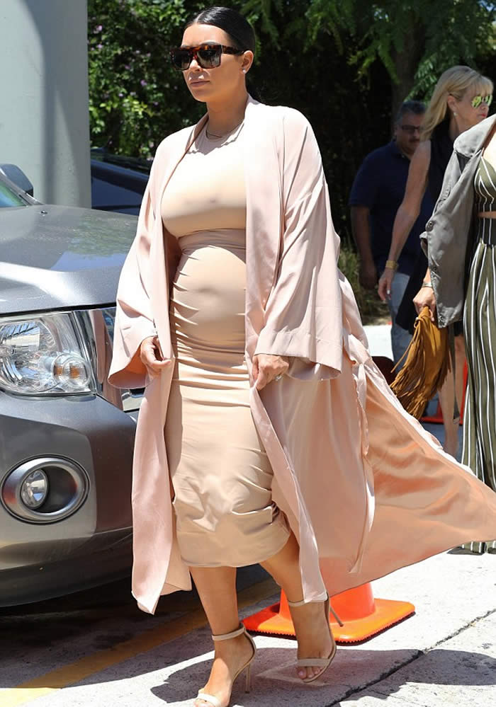 Kim Kardashian Skin Tight Dress