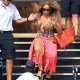 Music Diva Mariah Carey Almost Trips and Falls