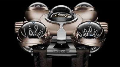 MB&F HM6 RT Space Pirate, Now in Red Gold