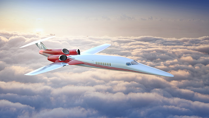 $120 Million Supersonic Business Jet Aerion AS2
