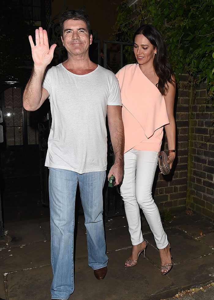 simon cowell and lauren silverman pic