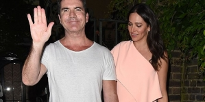 Simon Cowell Enjoys Party with Lauren Silverman
