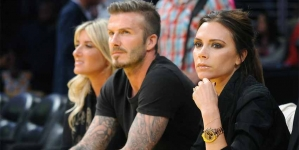 Best Friends David and Victoria Beckham