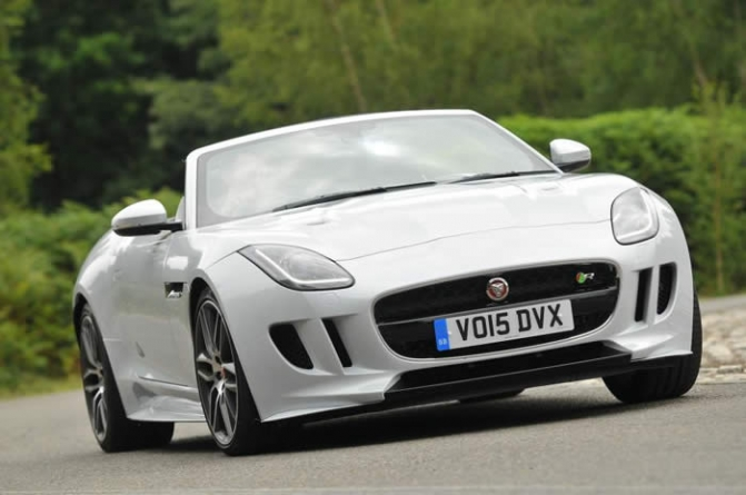 2016 Jaguar F-Type R Convertible AWD Review