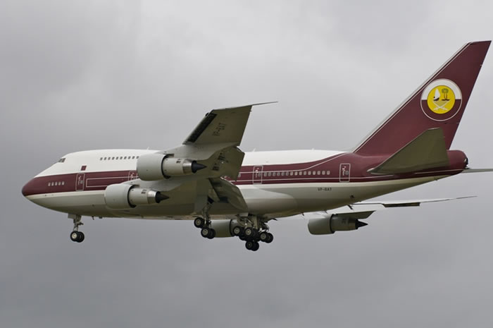 Boeing 747-81 VIP worth $153 Million