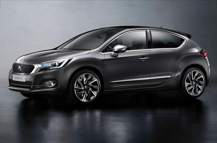 Facelifted DS4 Car