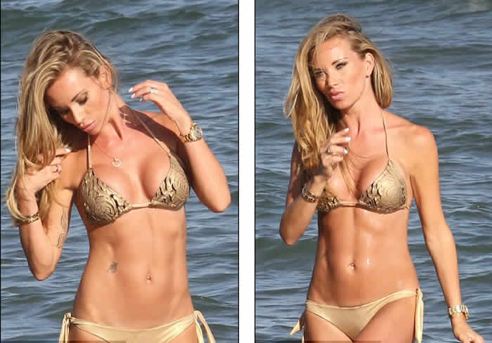 Natalie Richardson Bikini