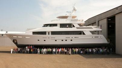 Westport Launches 12th Superyacht In 40m Series