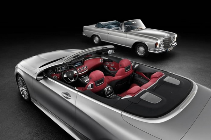 2016 Mercedes-Benz S-Class Cabriolet – First Official Picture