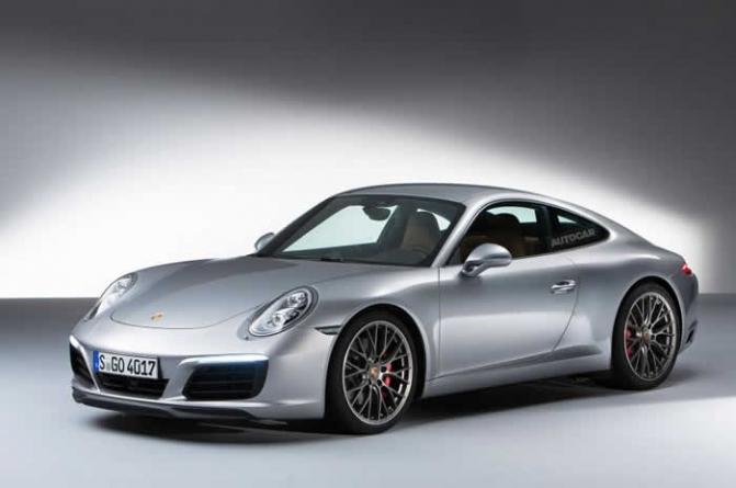2015 Porsche 911 Facelift Revealed – Exclusive Studio Pictures