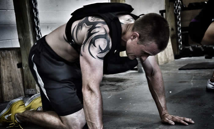 Crossfits's Murph workout