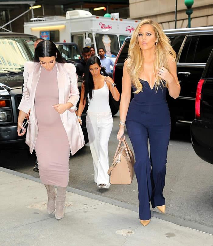 Kardashians dressed