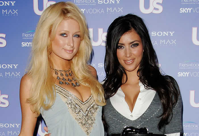 Kim And Paris Hilton Have A History
