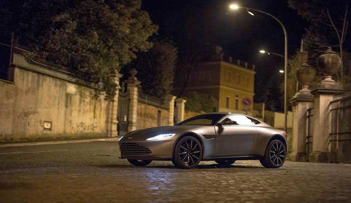 Aston Martin DB10 in the Spotlight at Spectre World Premiere