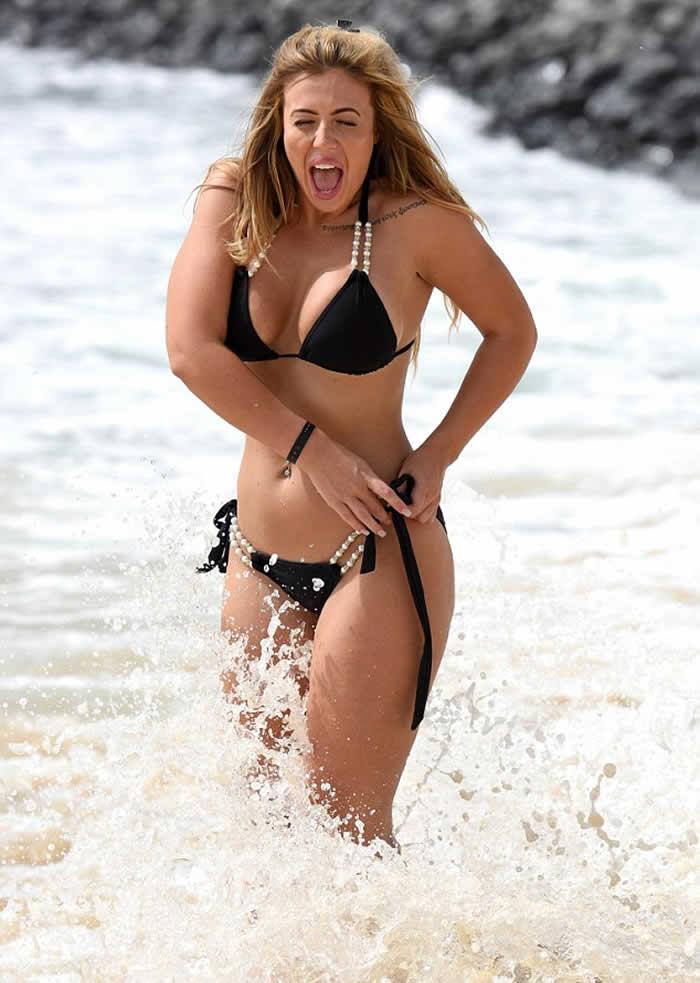 Holly Hagan Bikini