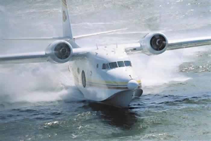 Jimmy Buffett and his Grumman HU-16 Albatross