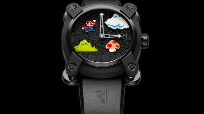 Romain Jerome Hits New Highs with Super Mario Watch