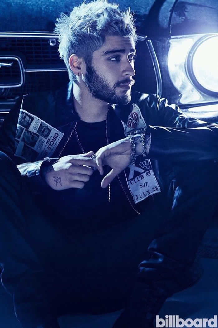 Zayn Malik' Billboard Cover Shoot